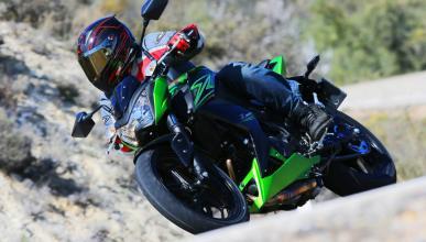 Prueba Kawasaki Z300 La Moto Desnuda Motos Autobildes