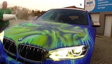 El BMW X6 que cambia de color