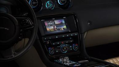 Sistema de infoentretenimiento del Jaguar XJ