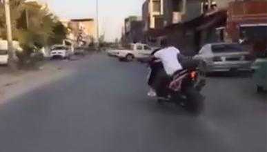 Vídeo: Drifting con un scooter... Con un T-Max