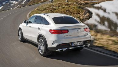 Prueba: Mercedes GLE dinámica trasera