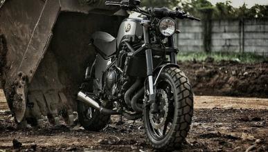 Preparación de la Kawasaki Versys by Studio Motor