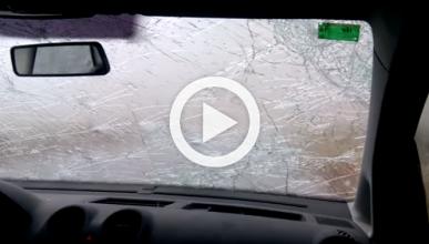 Mira lo que una tormenta puede hacer con tu parabrisas