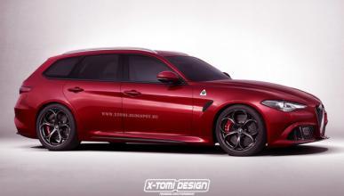 Alfa Giulia Wagon: así sería el familiar