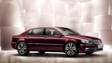 El VW Phaeton tendrá una versión ¡híbrida enchufable!