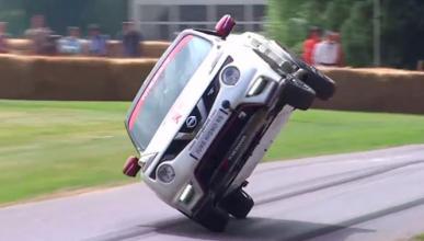 Vídeo: Nissan Juke RS Nismo, ¡a dos ruedas en Goodwood!