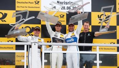 DTM 2015,Norisring: Wehrlein lidera el póquer de Mercedes