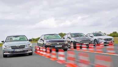 Superb/Passat/Mazda6/Mondeo