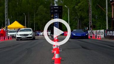 Este Mercedes CLS corre más que un Lamborghini Aventador
