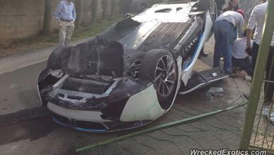accidente BMW i8