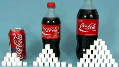 azúcar cocacola
