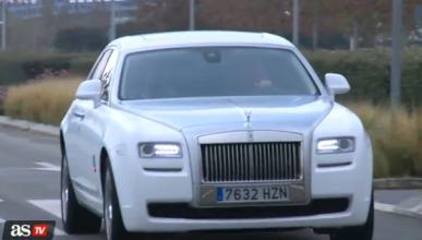 Cristiano Ronaldo estrena coche: Rolls Royce Ghost