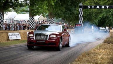 El Rolls-Royce Wraith es más rápido que el 918 Spyder