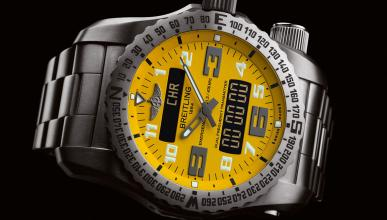 Breitling Emergency amarillo