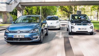 El VW e-Golf le gana la batalla al Nissan Leaf