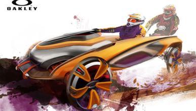 Así es el futuro coche de Oakley: interiores de quita y pon