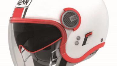 Casco N21 Visor de Nolan: abierto y con estilo