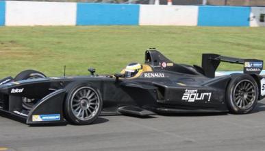 Pedro de la Rosa prueba la Fórmula E y no niega su interés