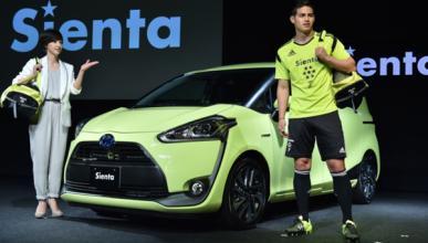 James Rodríguez, embajador del Toyota Sienta en Japón