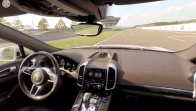 Vídeo 360º a bordo del Porsche Cayenne S E-Hybrid