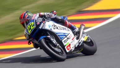 Libres Moto2 GP de Alemania 2015: Lowes recupera el tono