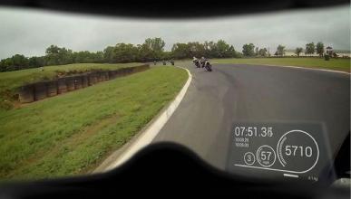 Nuviz, head-up display para moto en el casco