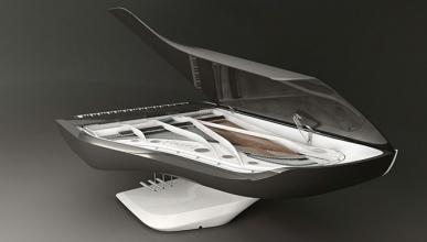 El piano y la bicicleta Peugeot, premiados por su diseño