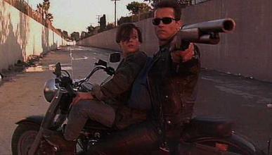 Terminator 2: en la Harley Fat Boy