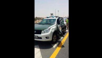 Un policía de Dubái muere en accidente de tráfico