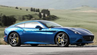 ¿Un Ferrari California T con carrocería fastback?