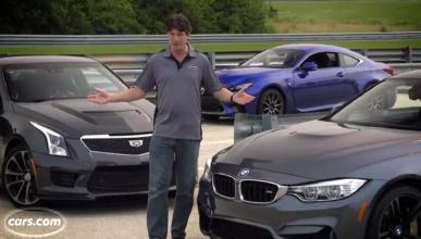 Vídeo: Europa contra EEUU y Japón: BMW M4 'vs' RC-F y ATS-V