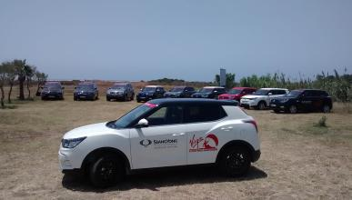 SsangYong vehículo oficial Mundial Kitesurf de Tarifa 2015