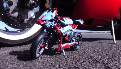 Vídeo: ¿Una moto de Lego a 100 km/h?