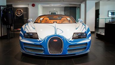 Un Bugatti Veyron ultramegaexclusivo