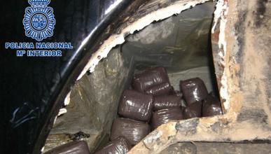 La Guardia Civil descubre un coche con 900 kilos de hachís