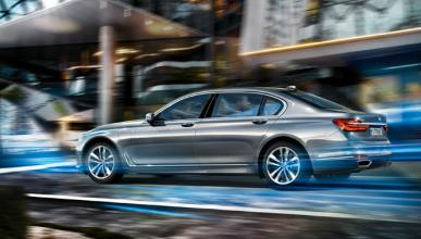 BMW Serie 7 enchufable