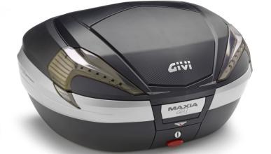 Baul Givi Maxia 600 Negro y gris.