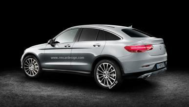 Mercedes GLC Coupé render