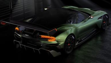 Aston Martin Vulcan alerón