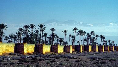 Jardines Agdal, en Marrakech