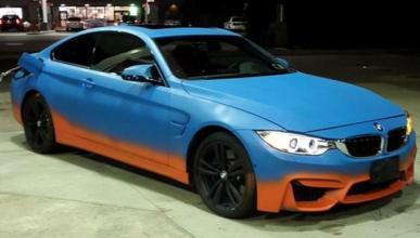 Cómo arruinar un BMW M4 al elegir la pintura