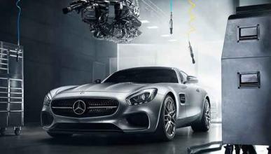 Los Mercedes AMG-GT toman Nürburgring