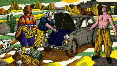Cómo unos plátanos salvaron al Citroën 2CV
