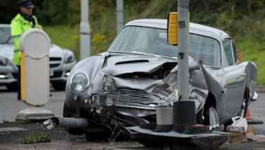 Accidente Aston Martin DB5