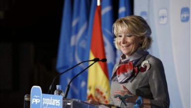 Esperanza Aguirre se libra