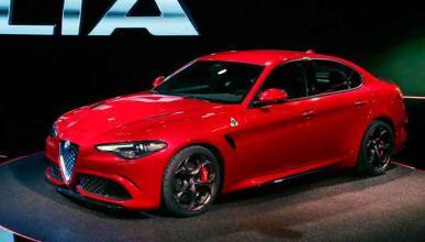 El modelo de entrada gama del Alfa Romeo Giulia, ¡cazado!