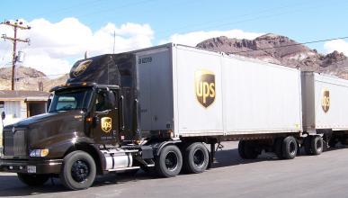 Los camiones de UPS apuestan por la tecnología anticolisión