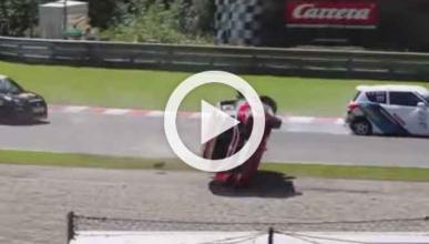 Brutal accidente en la Swift Cup Europe