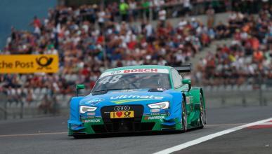 DTM 2015, Austria 1: Mortara domina, Wehrlein nuevo líder
