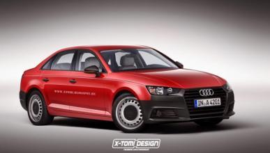 El acceso a gama del Audi A4 B9: ¿sería así?